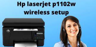 Hp laserjet p1102w wireless setup 4
