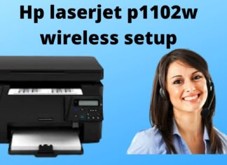 How can you Set Up an HP LaserJet P1102w on a Wireless