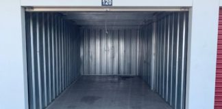 while choosing a storage facility