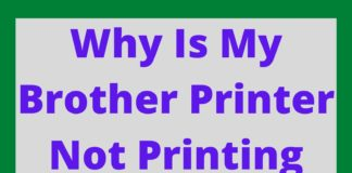 Why Is My Brother Printer Not Printing Black